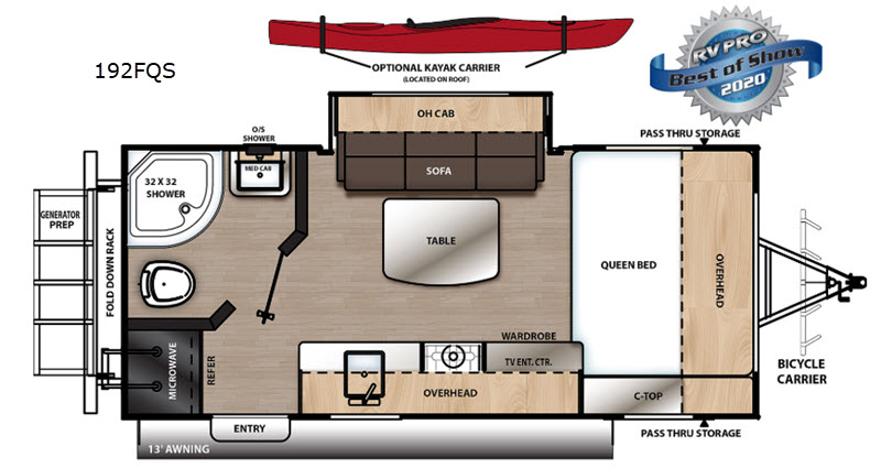 Catalina exp. floorplan